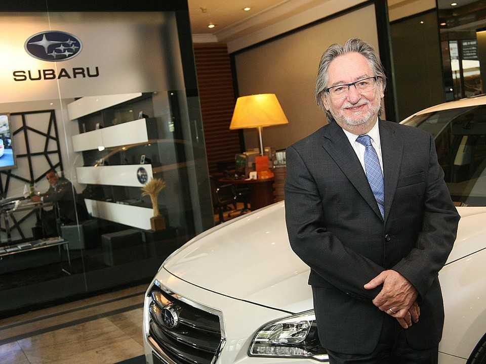 Flávio Padovan, diretor-geral da Subaru no Brasil