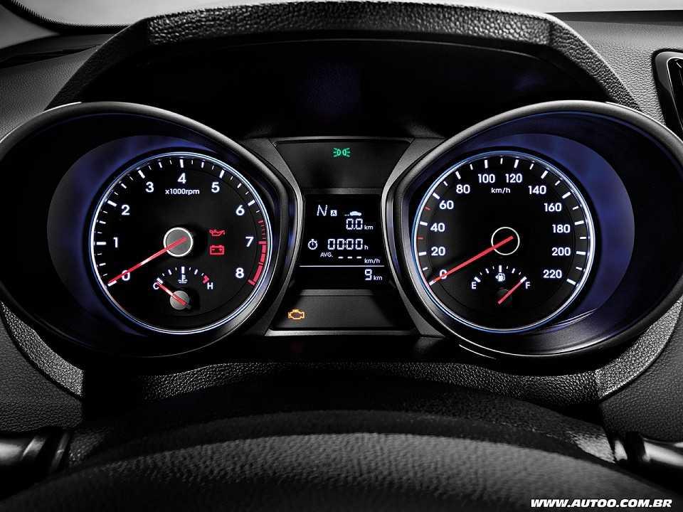 HyundaiHB20 2016 - painel de instrumentos