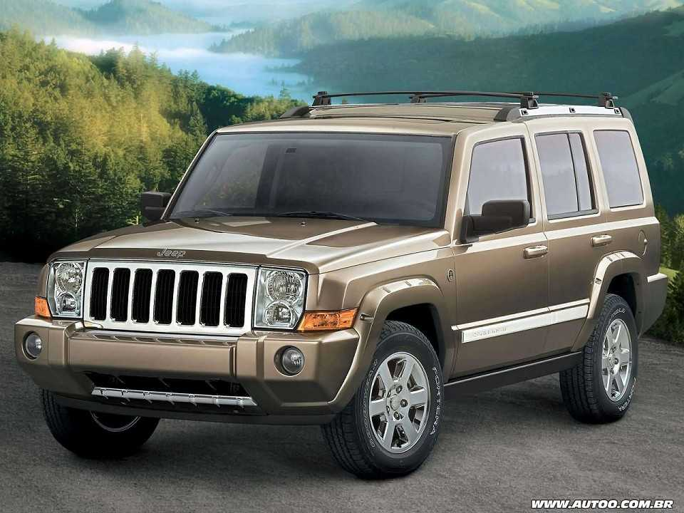 Jeep Commander 2006 - ângulo frontal