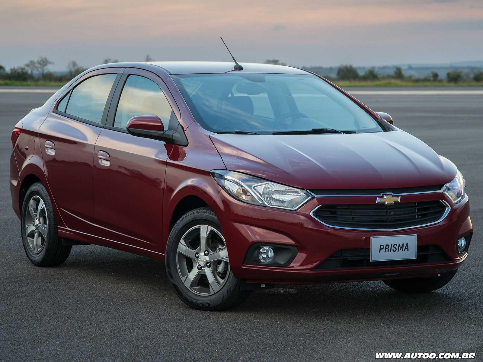 ChevroletPrisma 2017 - ângulo frontal