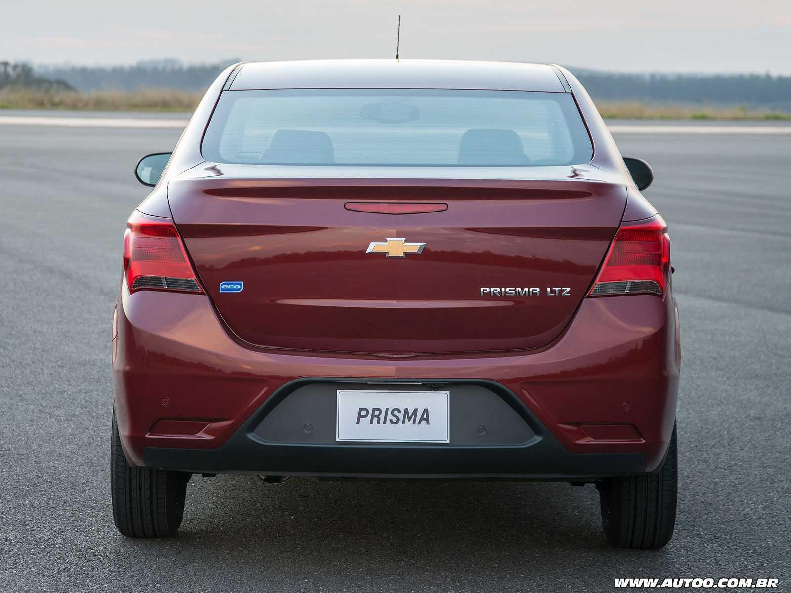 ChevroletPrisma 2017 - traseira