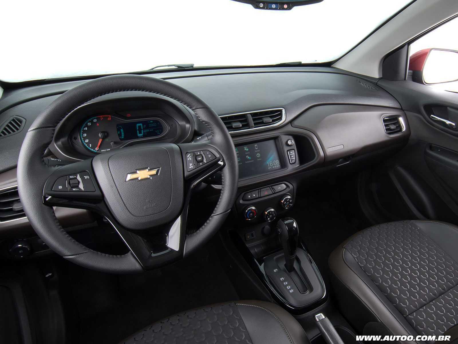 ChevroletPrisma 2017 - painel