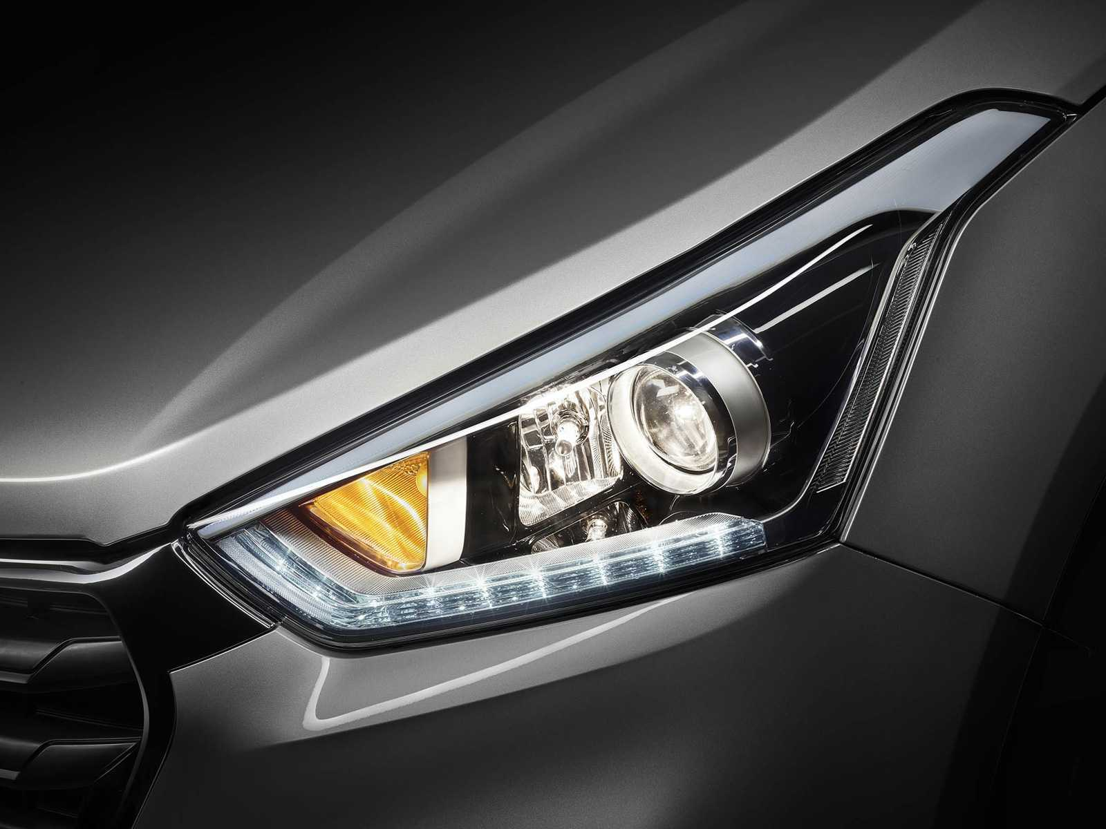 HyundaiCreta 2017 - faróis