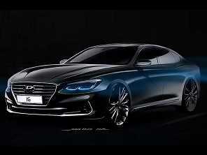 Hyundai antecipa detalhes do novo Azera
