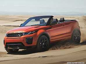 Range Rover Evoque convers�vel j� tem pre�o no Brasil