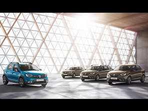Renault mostra Sandero e Logan com novo visual na Europa