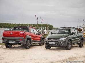 Fiat Strada ganha tr�s vers�es na linha 2017