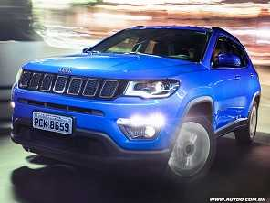 Jeep Compass chega para ser a refer�ncia no segmento