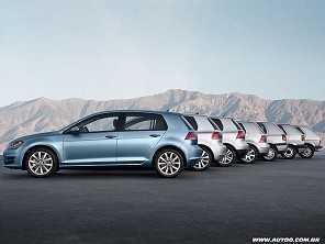 VW celebra os 45 anos do Golf