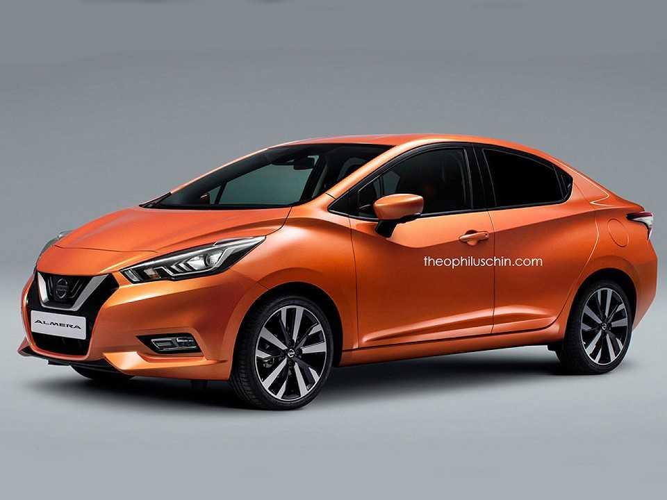Projeção antecipa a nova geração do Nissan Versa