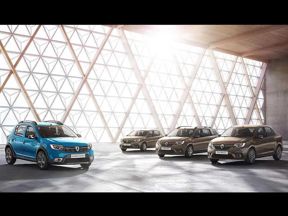 Facelift para a gama Renault Sandero e Logan apresentado na Europa