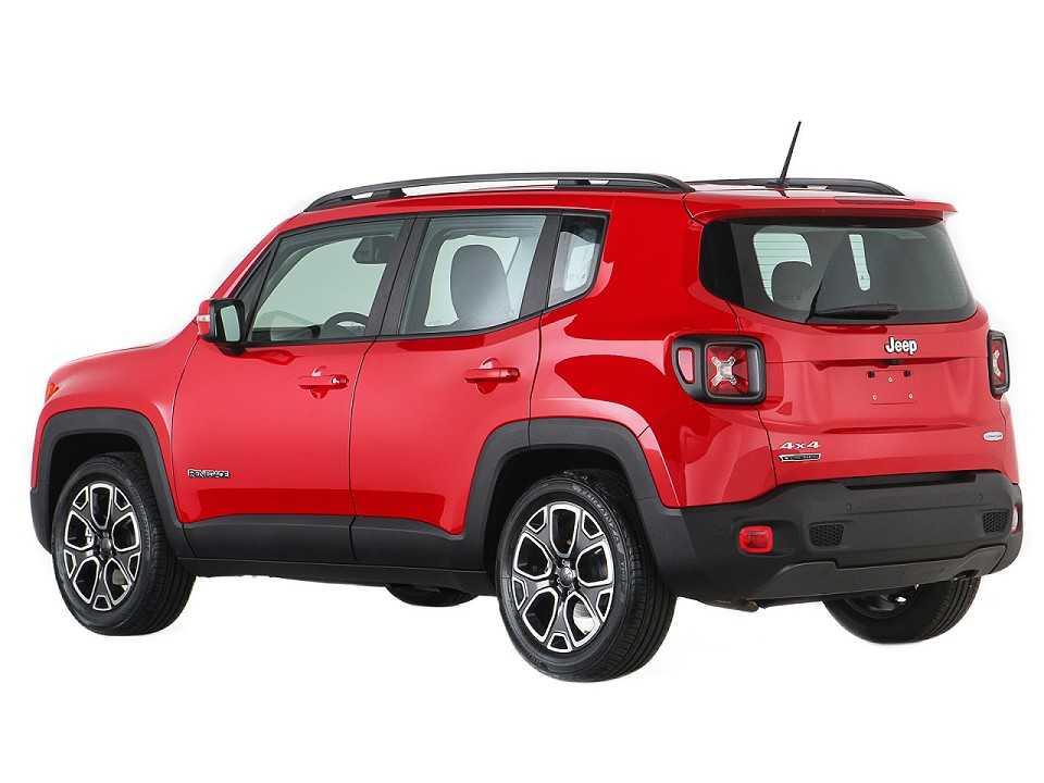 JeepRenegade 2016 - ângulo traseiro