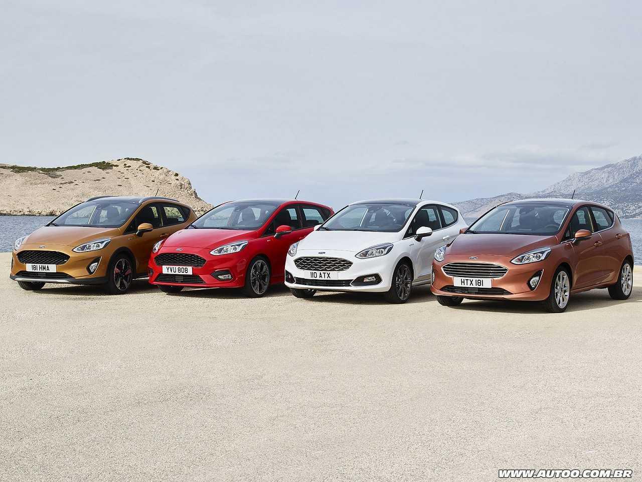 Oitava geração do Ford Fiesta revelada em quatro versões