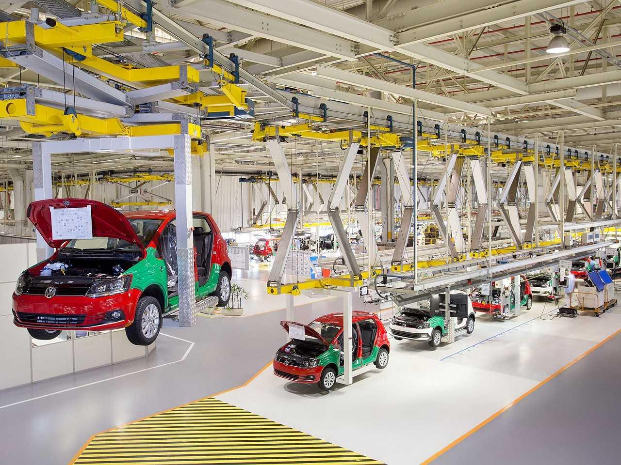 Fábrica da Volkswagen em São José dos Pinhais (PR)