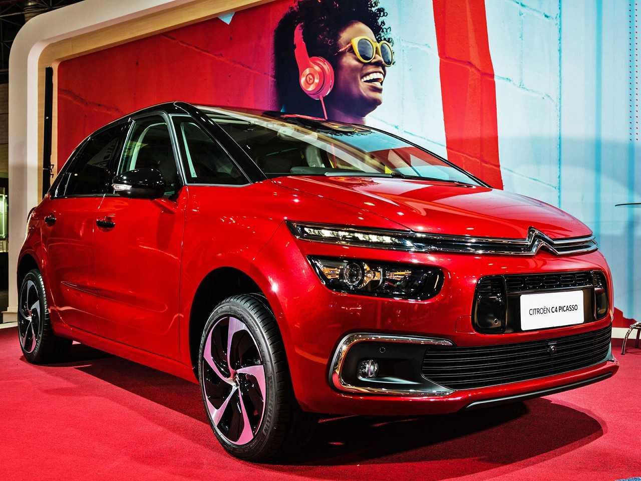 CitroënC4 Picasso 2017 - ângulo frontal