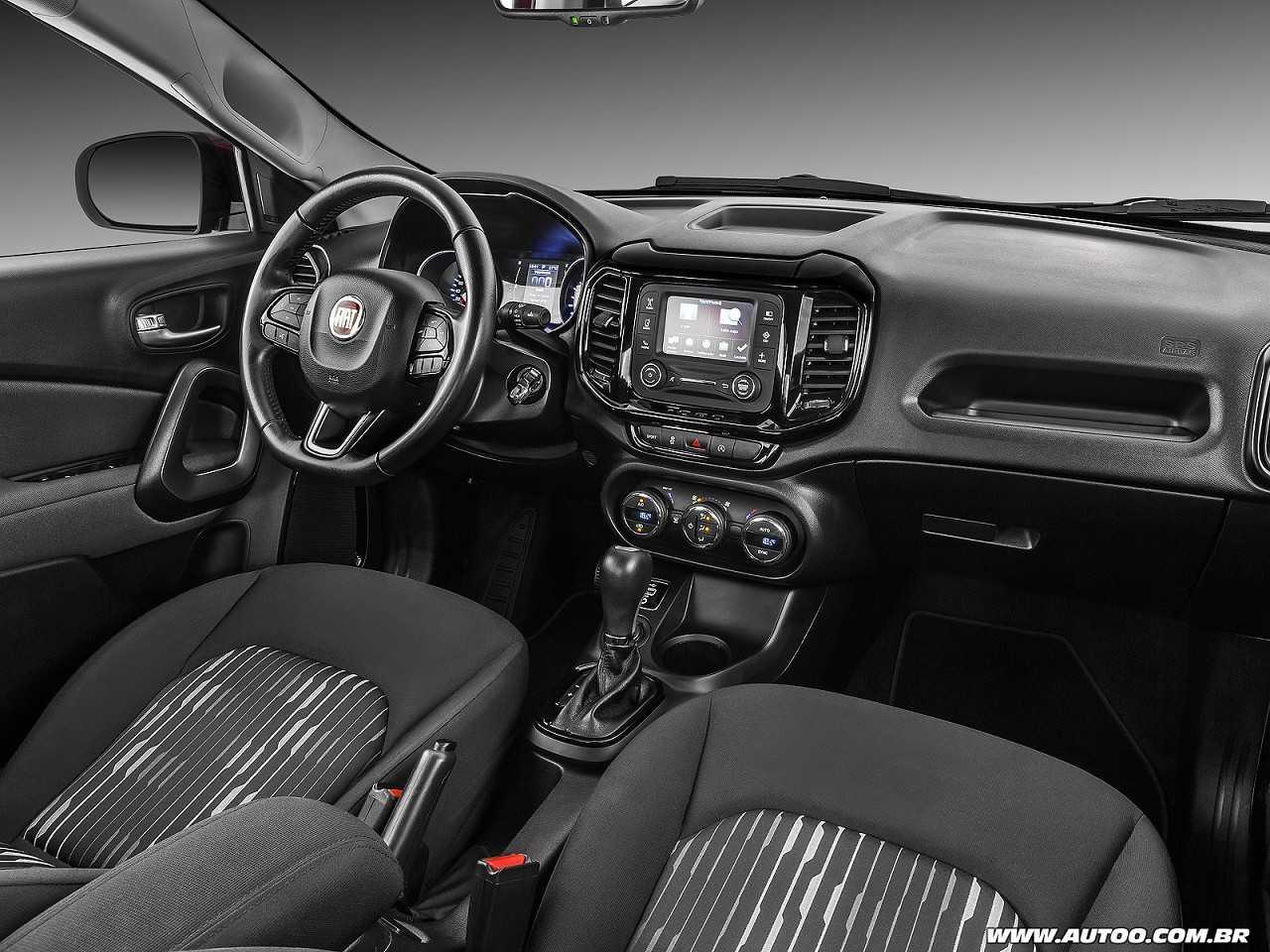 FiatToro 2017 - painel
