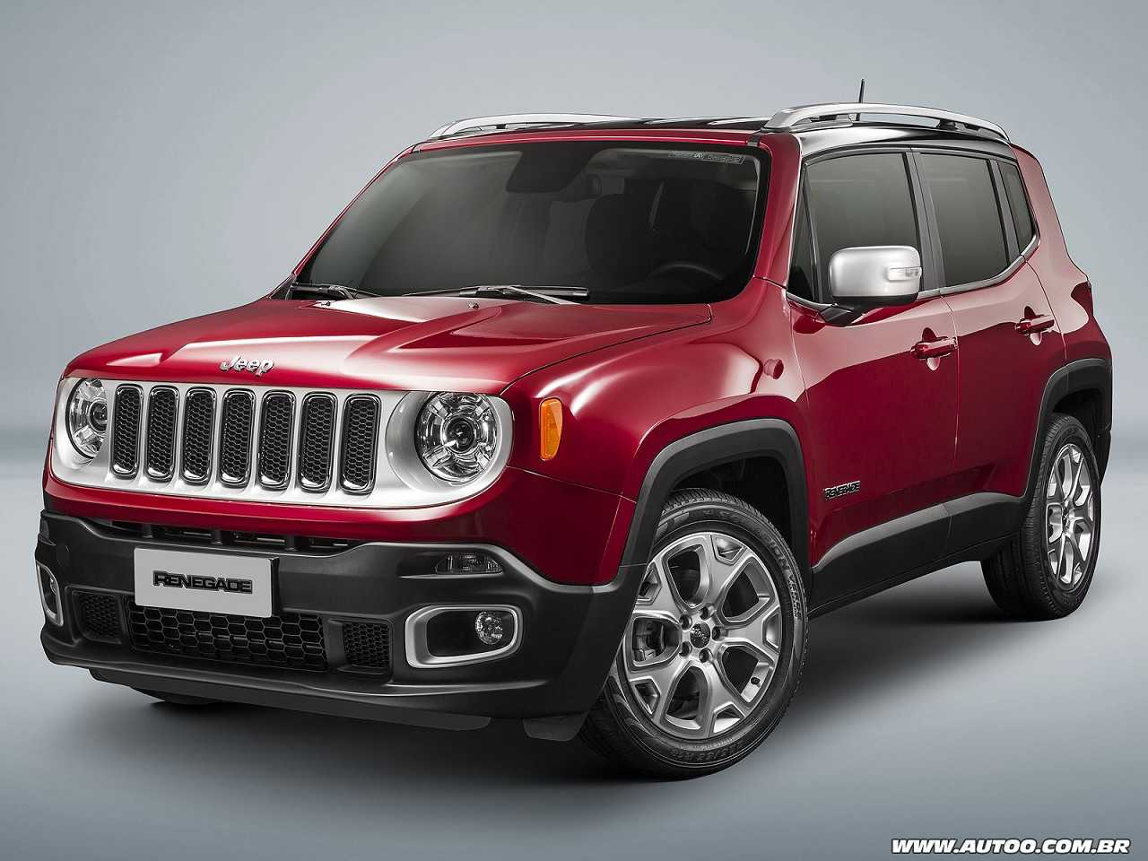 Jeep Renegade 2017 - ângulo frontal