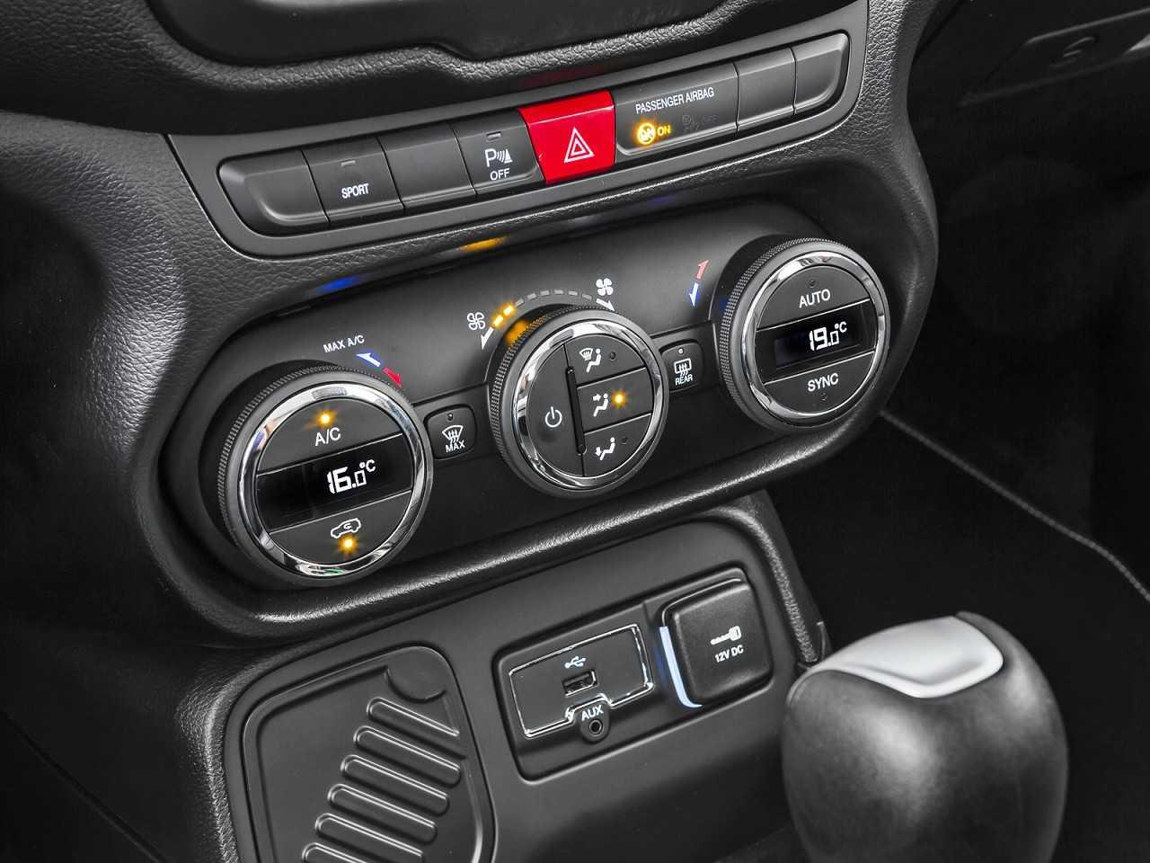 JeepRenegade 2017 - console central