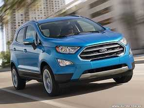 Ford EcoSport com facelift estreia em maio