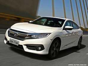 Comprar um Honda Civic Touring ou partir para um Jeep Compass Limited?