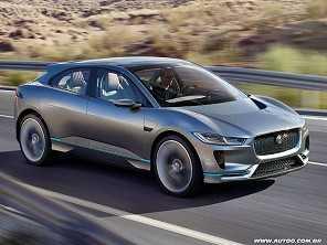 Jaguar apresenta seu SUV elétrico