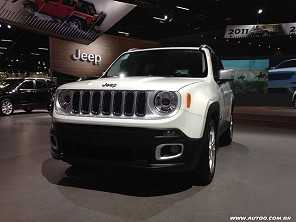 Jeep Renegade 2017 estreia atualizações importantes