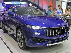 Maserati Levante estreia no Brasil por R$ 640 mil