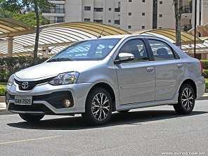 Toyota Etios Sedã Platinum mostra a importância de um bom motor