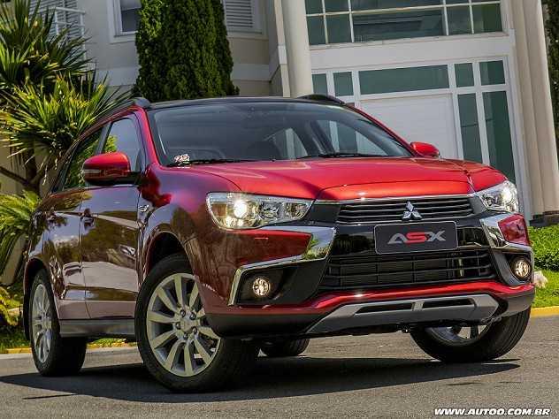 Devo optar por um Mitsubishi ASX com tração integral (AWD) ou dianteira?