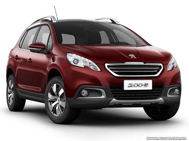 Peugeot 2008 2017 Griffe 1 6 16V flex manual 4p - AUTOO