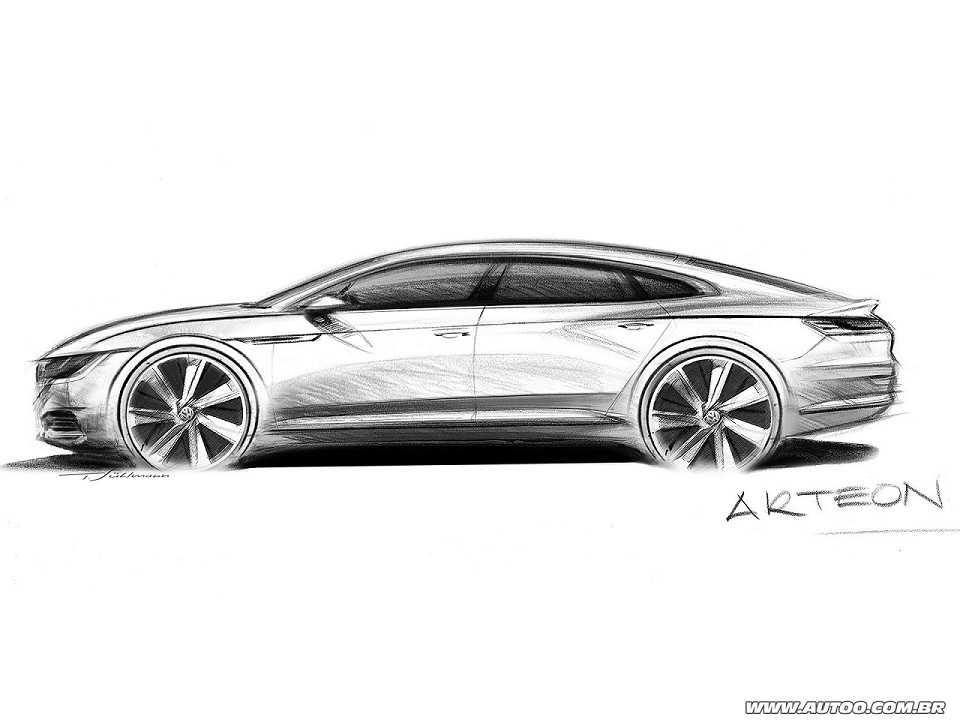 Volkswagen Arteon (teaser)