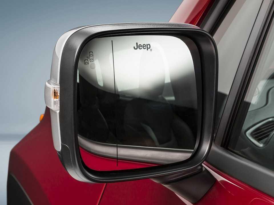 JeepRenegade 2017 - retrovisores