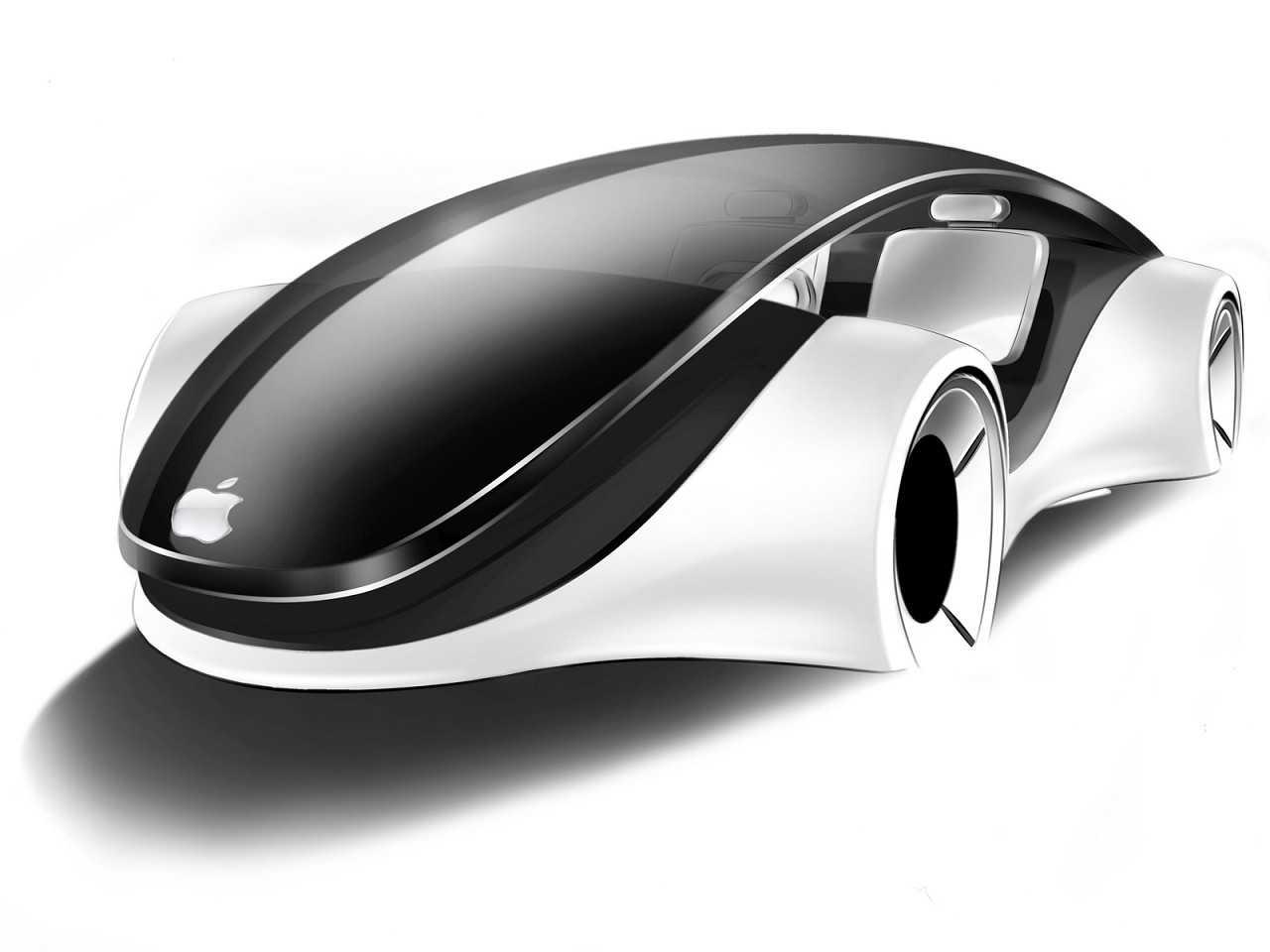 Projeção de como poderia ser o carro autônomo da Apple