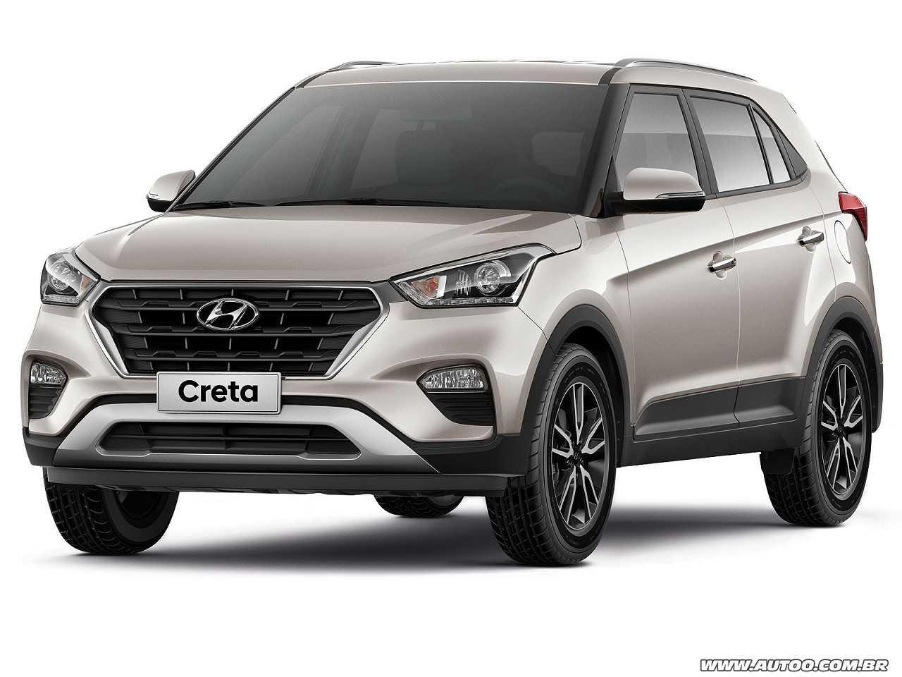 HyundaiCreta 2017 - ângulo frontal