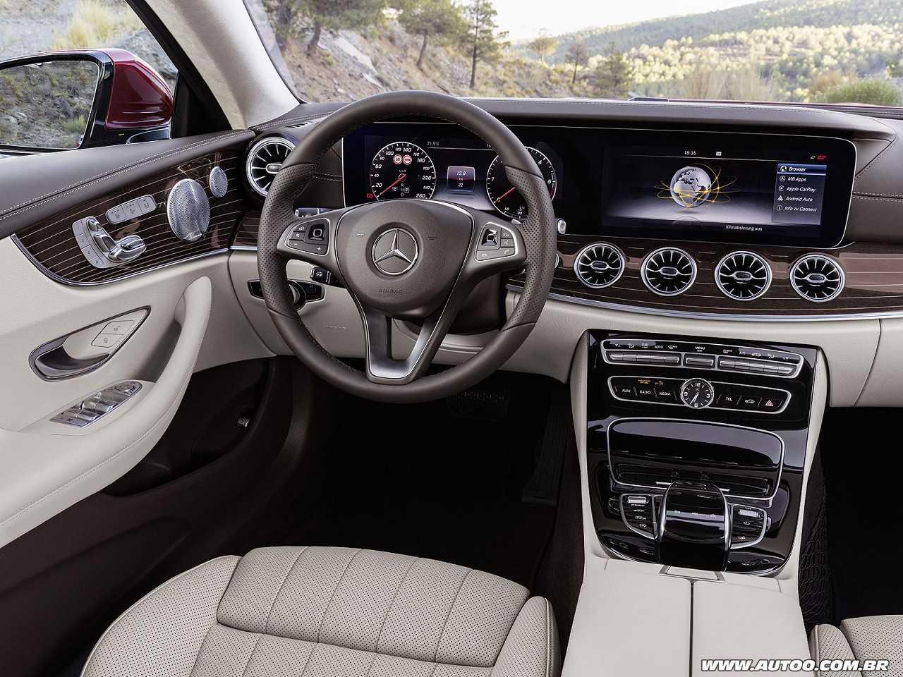 Mercedes-BenzClasse E Coupé 2017 - painel