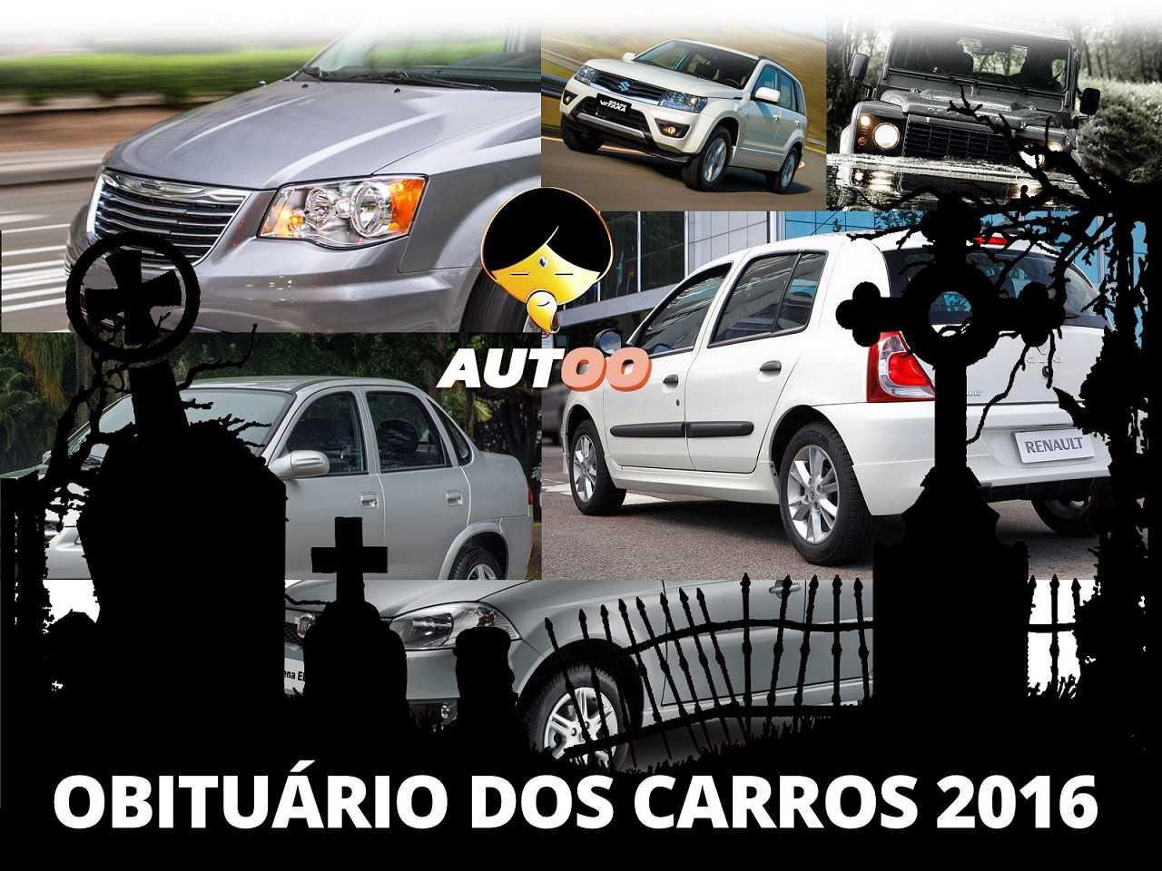 Obituário 2016: carros que se foram