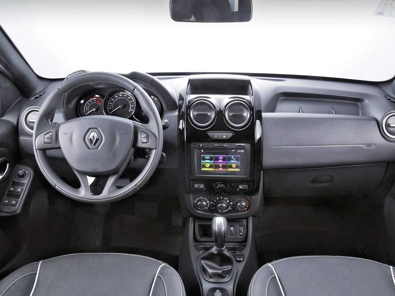 RenaultOroch 2017 - painel