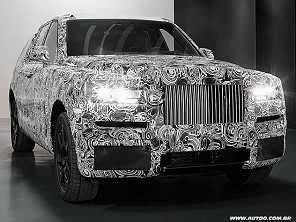 Rolls-Royce (quase) mostra seu primeiro SUV