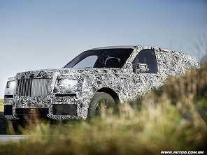 Rolls-Royce define o nome de seu aguardado SUV