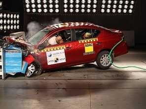 Nissan March e Versa mexicanos são menos seguros que os brasileiros