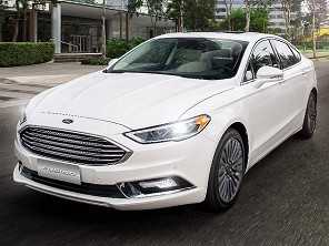 Uma volta a bordo do Ford Fusion 2017