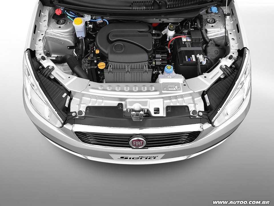 FiatGrand Siena 2017 - motor