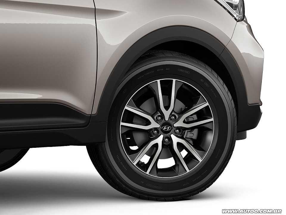 HyundaiCreta 2017 - rodas