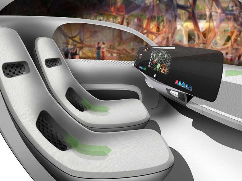 Boato sobre o carro da Apple fez muita gente imaginar como seria o interior do veículo