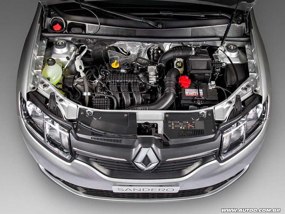 RenaultSandero 2017 - motor