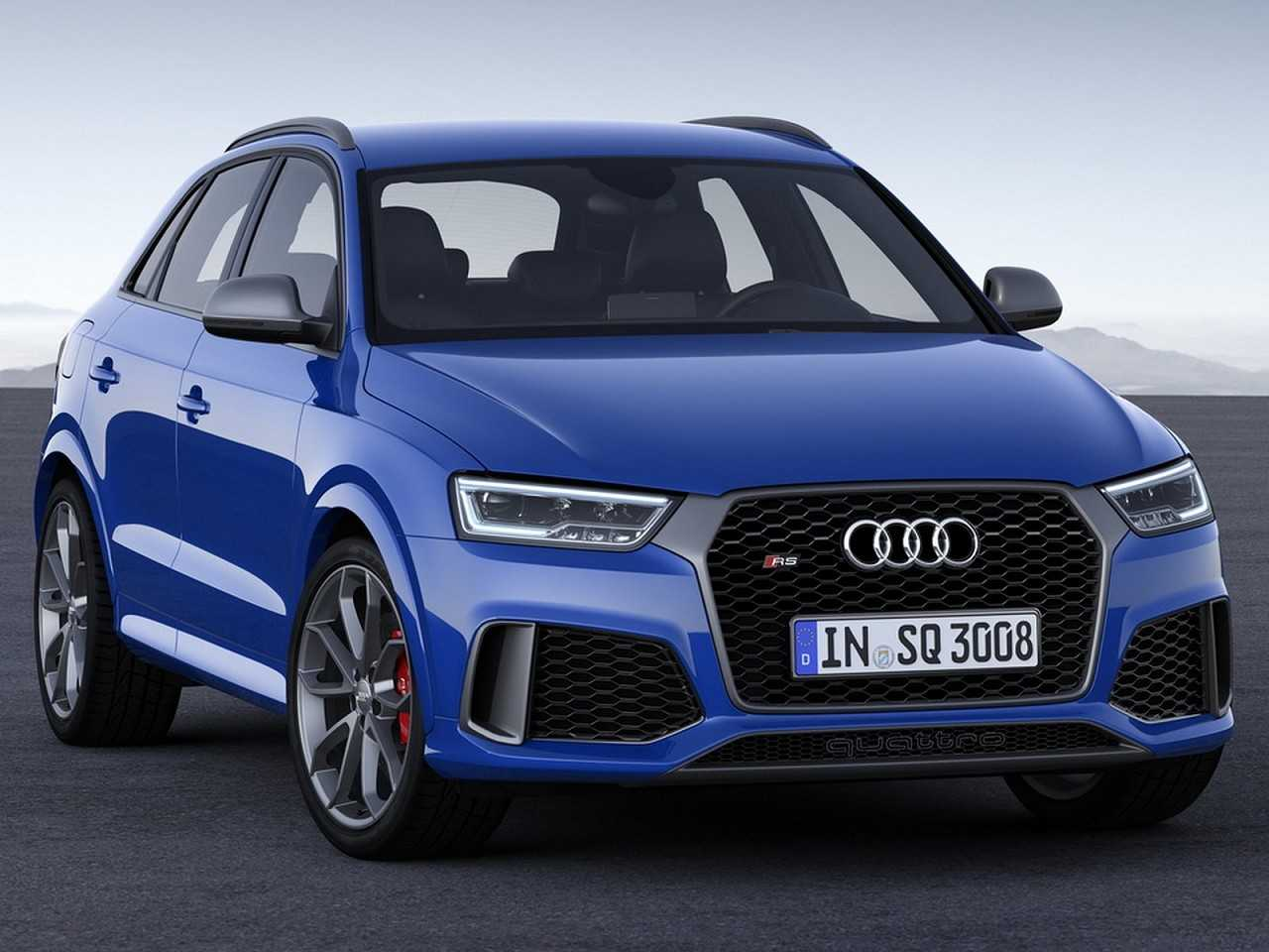 Audi RS Q3 2016 - ângulo frontal