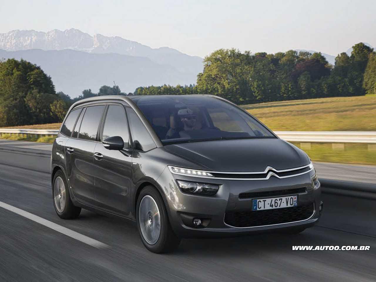 CitroënC4 Picasso 2016 - ângulo frontal