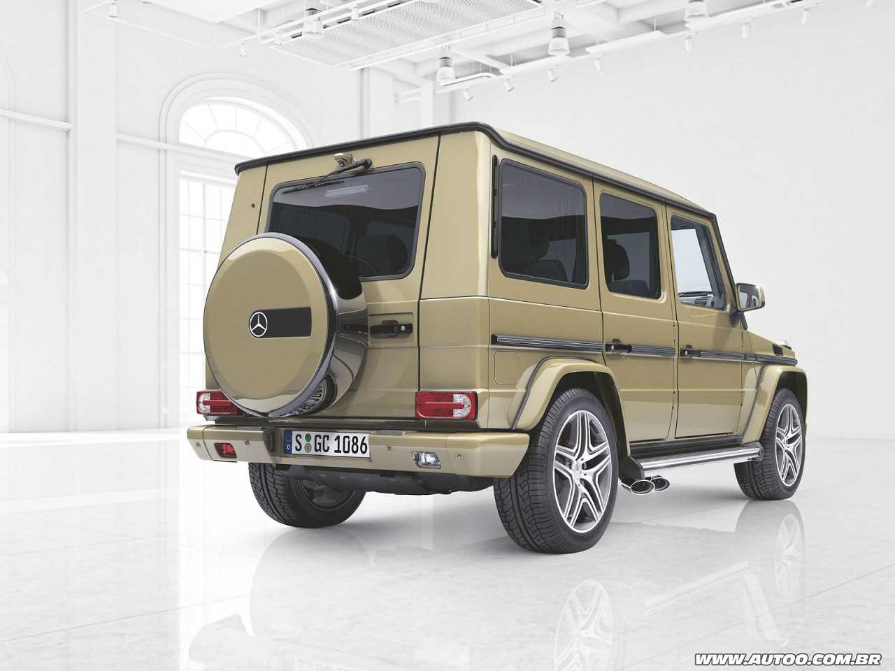 Mercedes-BenzClasse G 2016 - ângulo traseiro