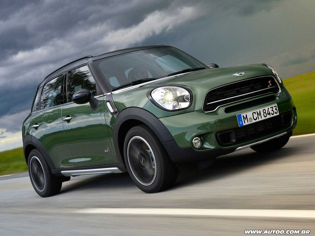 Mini Countryman 2014 - ângulo frontal