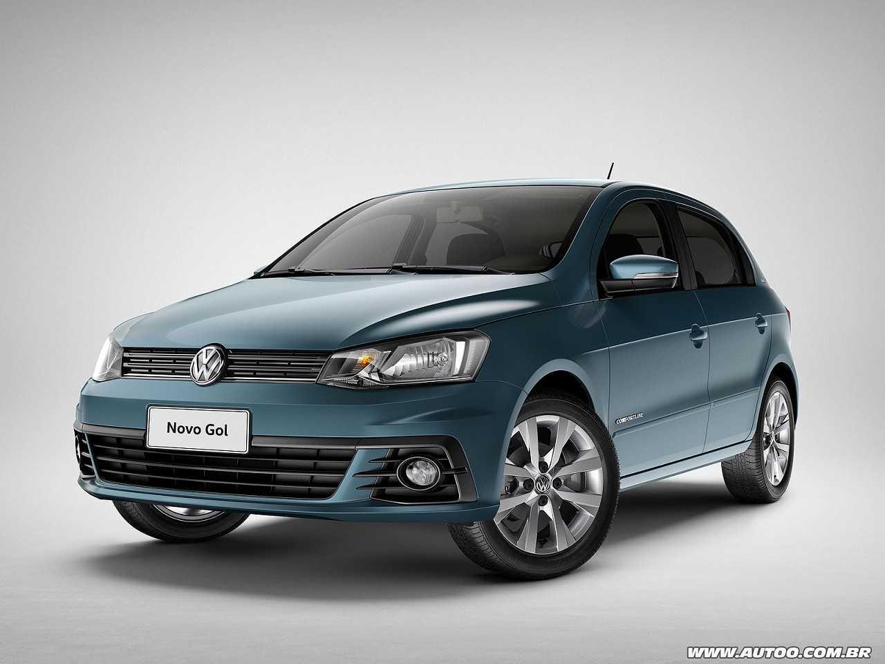 VolkswagenGol 2016 - ângulo frontal